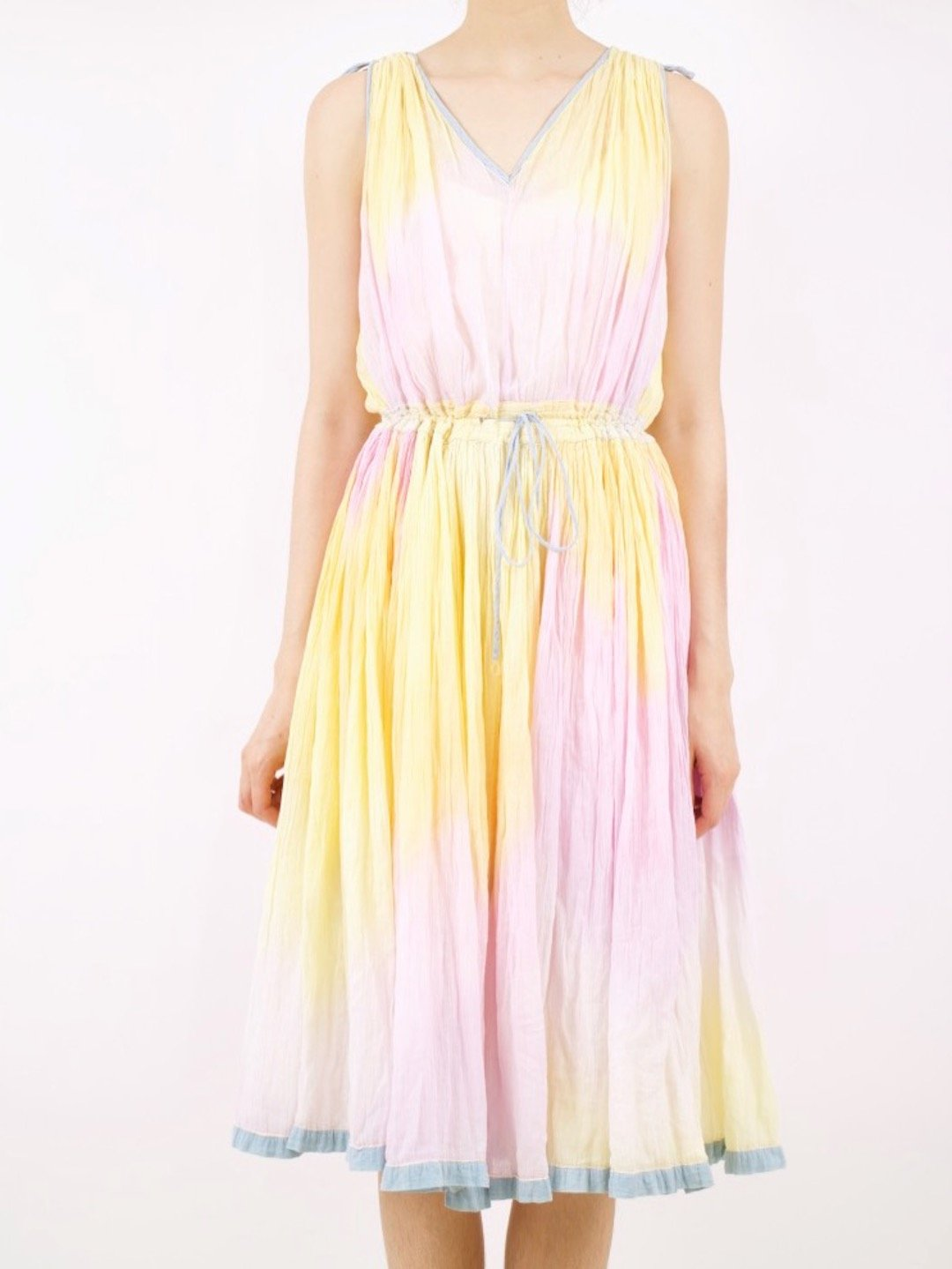 80s Dresses   Casual to Party Dresses vintage tie dye dress - multi $116.00 AT vintagedancer.com
