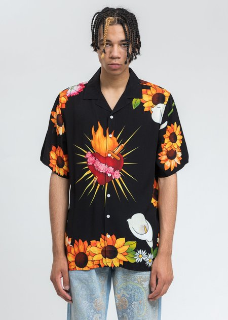 PLEASURES Heart Shirt - Black