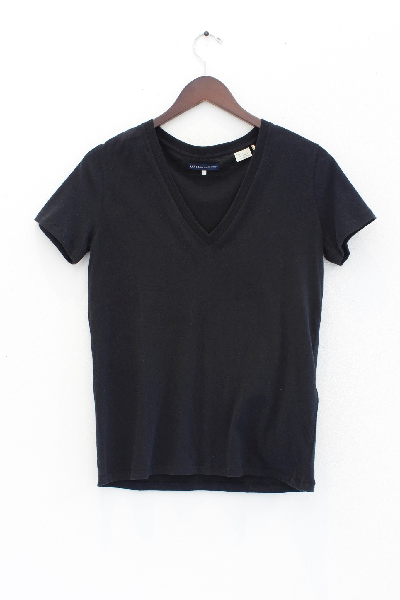 levis made and crafted levi 39 s v neck t shirt garmentory. Black Bedroom Furniture Sets. Home Design Ideas