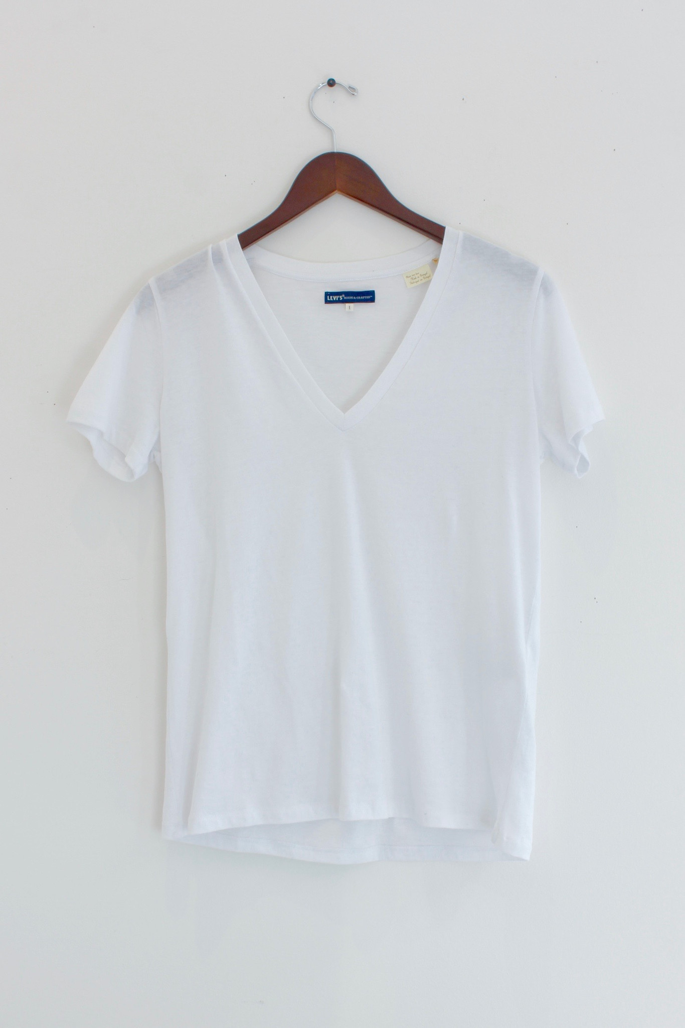 Levis made and crafted levi 39 s v neck t shirt garmentory for Levis made and crafted shirt