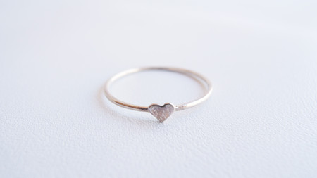 Catbird Heart - Sterling Silver