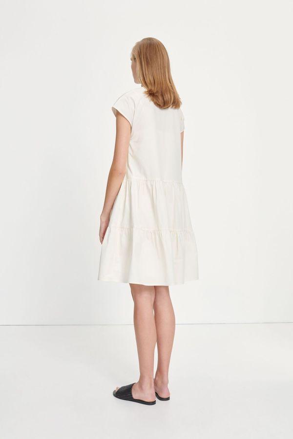 Samsoe Samsoe Margo Shirt Dress - Antique White