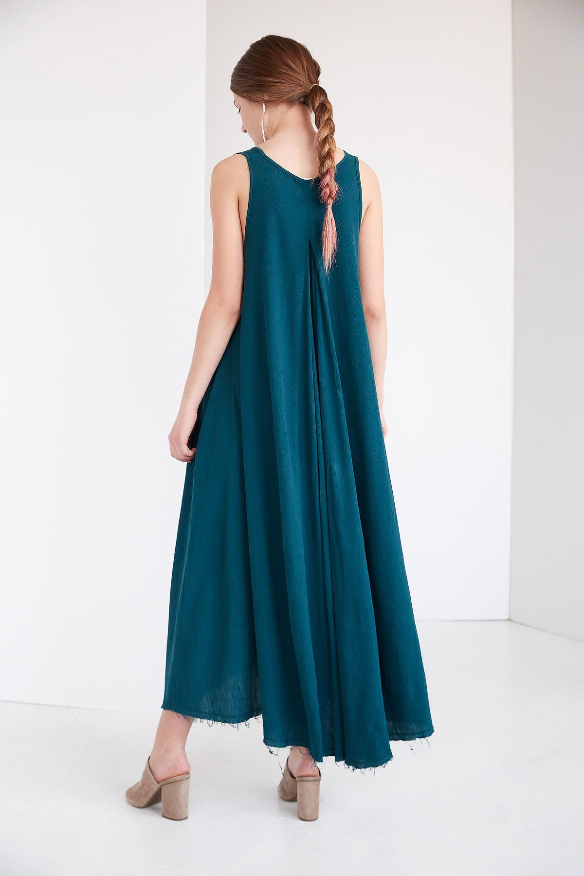Black Crane Floral Dress Peacock Garmentory