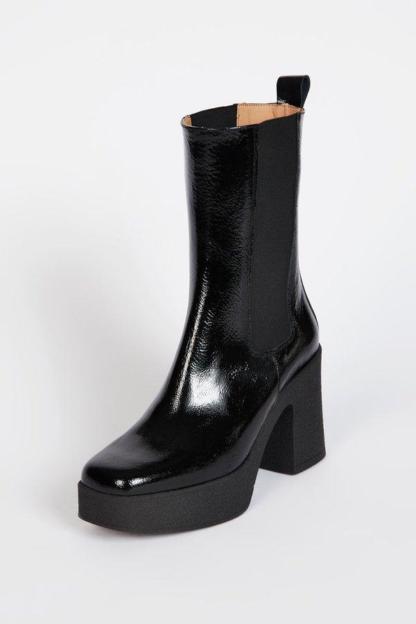 """INTENTIONALLY __________."" BOSSY Boot - Black"