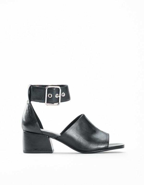 a1bc40fe10a94 Vagabond Saide Ankle Strap Mule Black | Garmentory