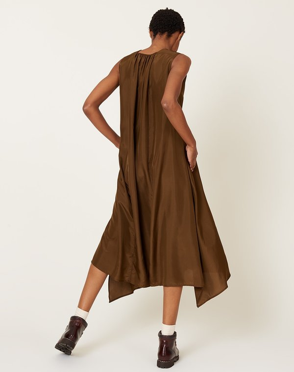 Christian Wijnants Dican Dress - Tobacco