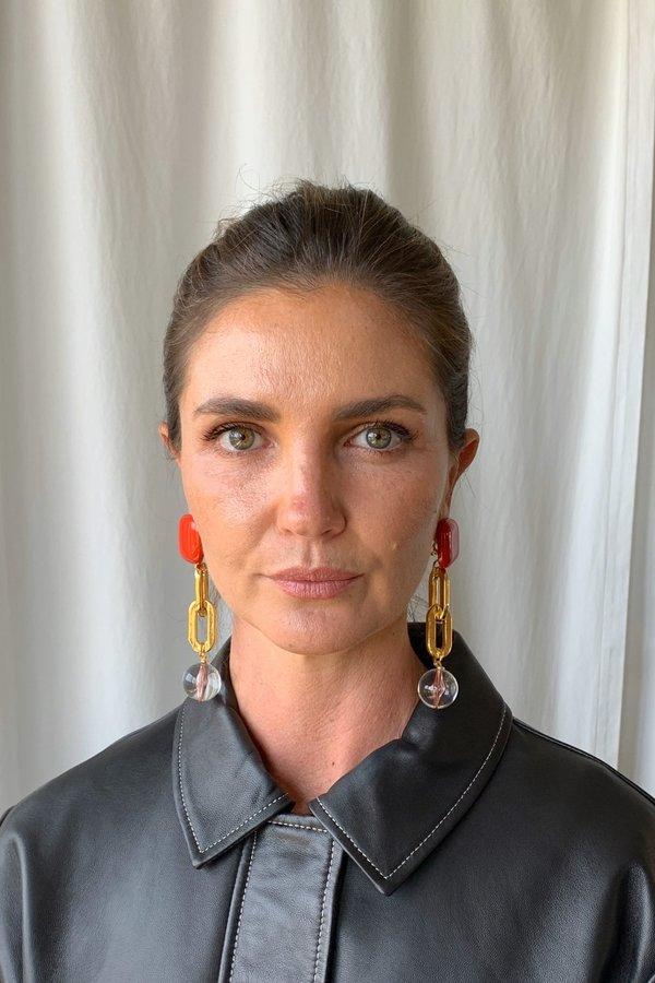 Rachel Comey Ayala Earring - Red