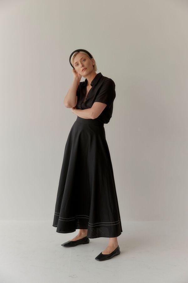 Mina Isik Skirt - Black