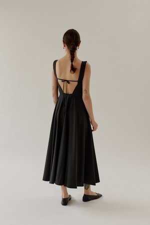 Mina Kind Dress - Black