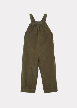 kids Caramel Gobi Dungaree jumpsuit - Olive