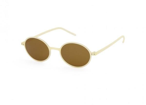 Unisex Izipizi Slim Sunglasses - Cream