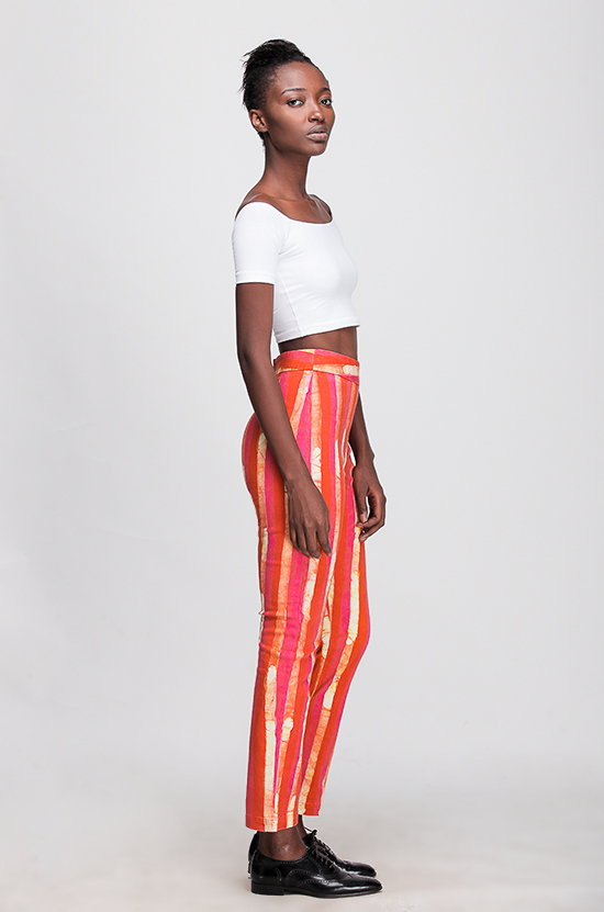 Osei-Duro Vapos Trouser in Candy Stripe