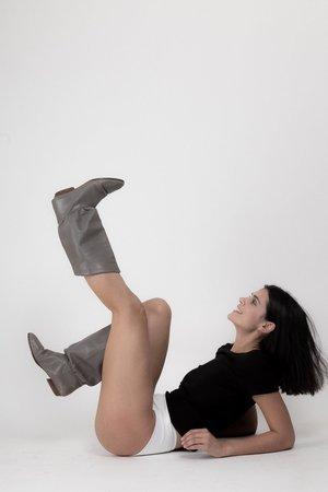 Rachel Mills Mini Tee - Black
