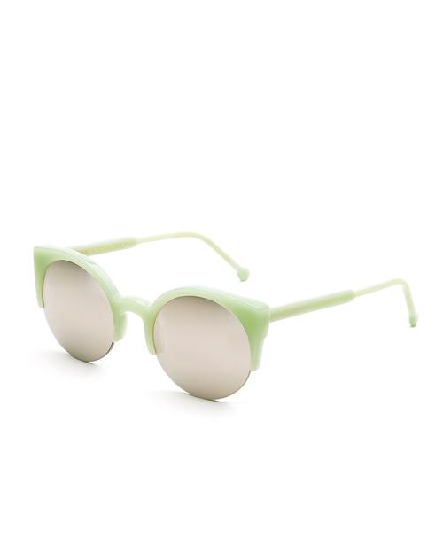 RetroSuperFuture Lucia Sunglasses in Ciao Green