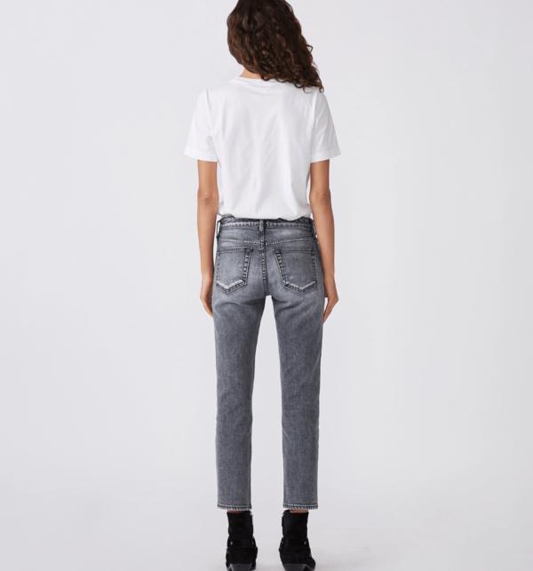 SLVRLAKE Lou Lou Jeans - Ash Gray