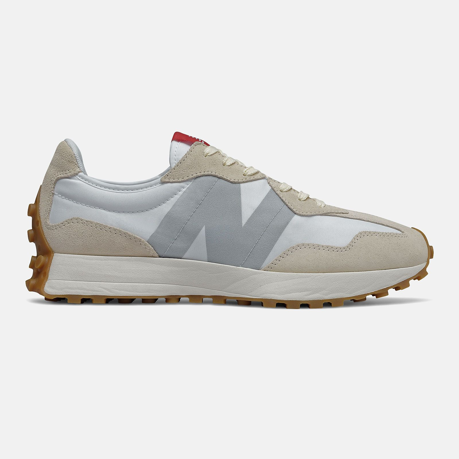 New Balance 327 Creme STB SNEAKERS - GRAY