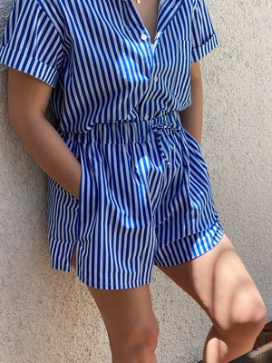 unisex ss button up
