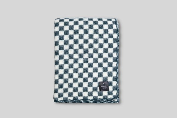 Norden Ostermalm Wool Blanket - Forest