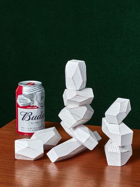 Fort Standard Balancing Blocks - White
