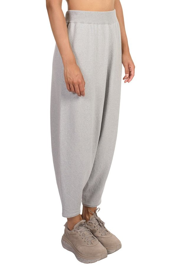 Mónica Cordera Pearl Knit Pants - BLUE