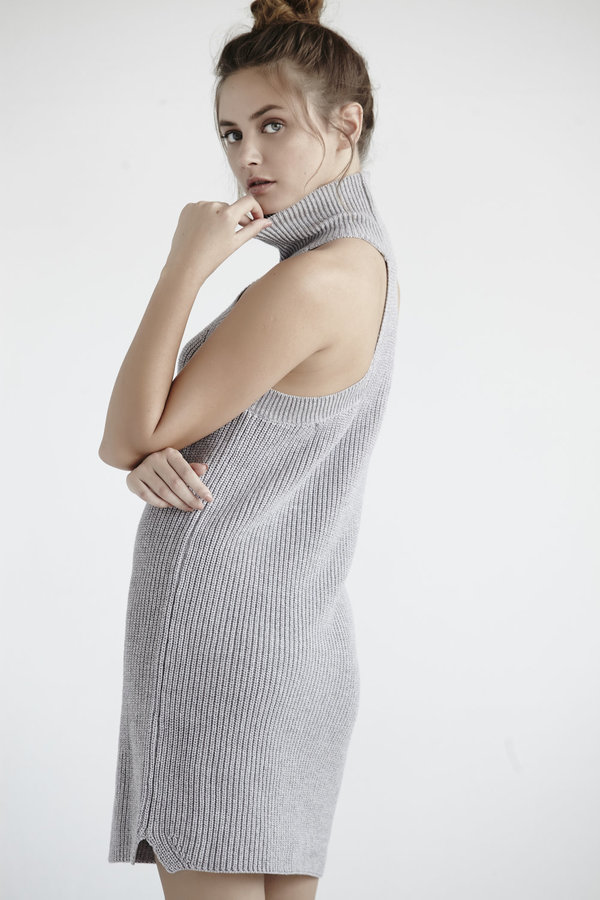 Turtleneck Tank Dress
