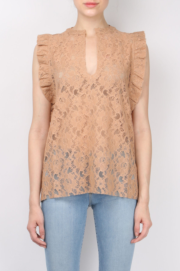 b1103a1aeece91 ... Lace Tank Top. sold out. (nude)