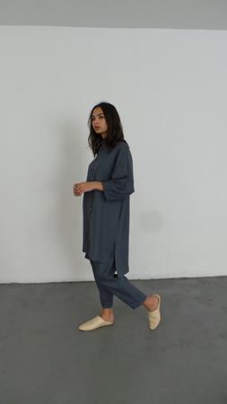 ILANA KOHN MARION DRESS - BLUE