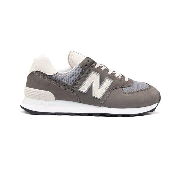 New Balance 574 Suede Mesh Sneaker - Grey | Garmentory