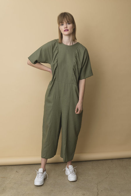 The General Public Gathered Jumpsuit