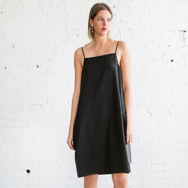 Gary Graham Slip Dress Black Garmentory