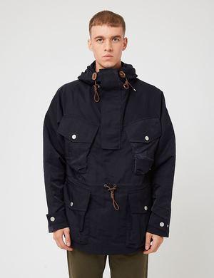 Nigel Cabourn Mountain Smock Jacket - Navy Blue