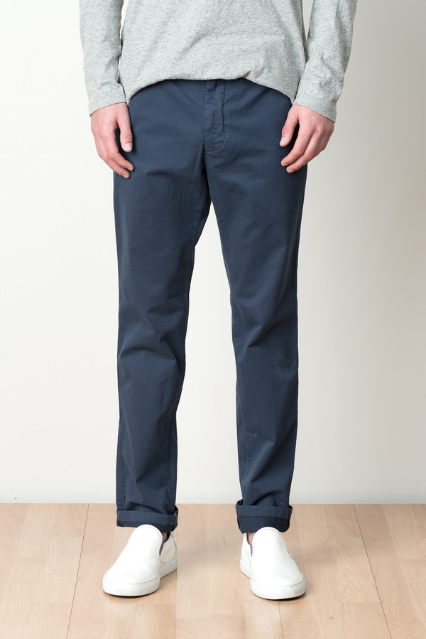eccb6d3fb7 Norse Projects Aros Slim Light Stretch In Navy   Garmentory