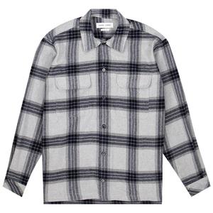 Samsoe Samsoe castor h 14089 shirt - Grey Mel Ch