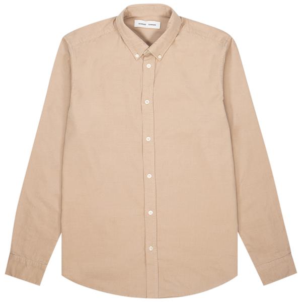 Samsoe Samsoe liam bx 10504 shirt - Humus
