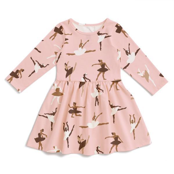 Kids Winter Water Factory Calgary Dress - Ballet Pink