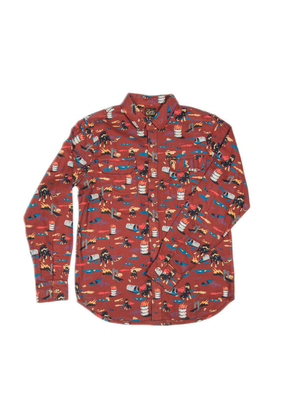 Men's Obey  City Hunt Shirt
