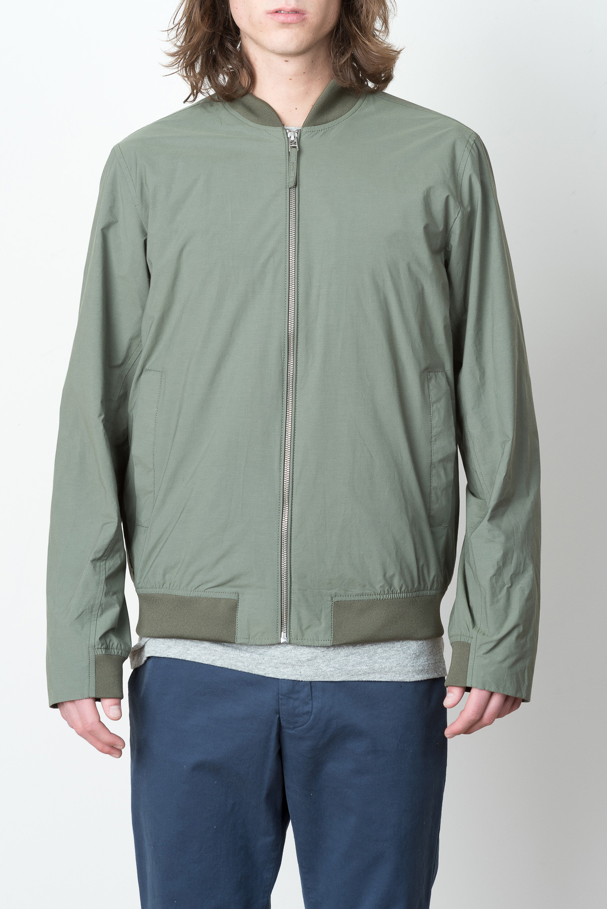 cefd4c2c6 Norse Projects Ryan Crisp Cotton In Dried Olive
