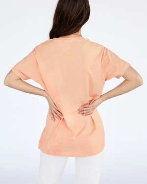 Clare V. Original Fit Tee - Coral