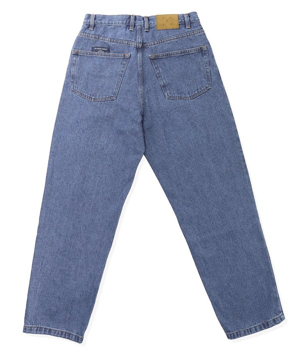Pop Trading Company DRS Denim Pant - Stone Washed