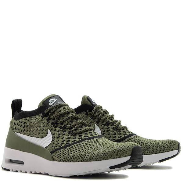 Cheap Nike Air Max Thea Flyknit 881175 300 Palm GreenBlack