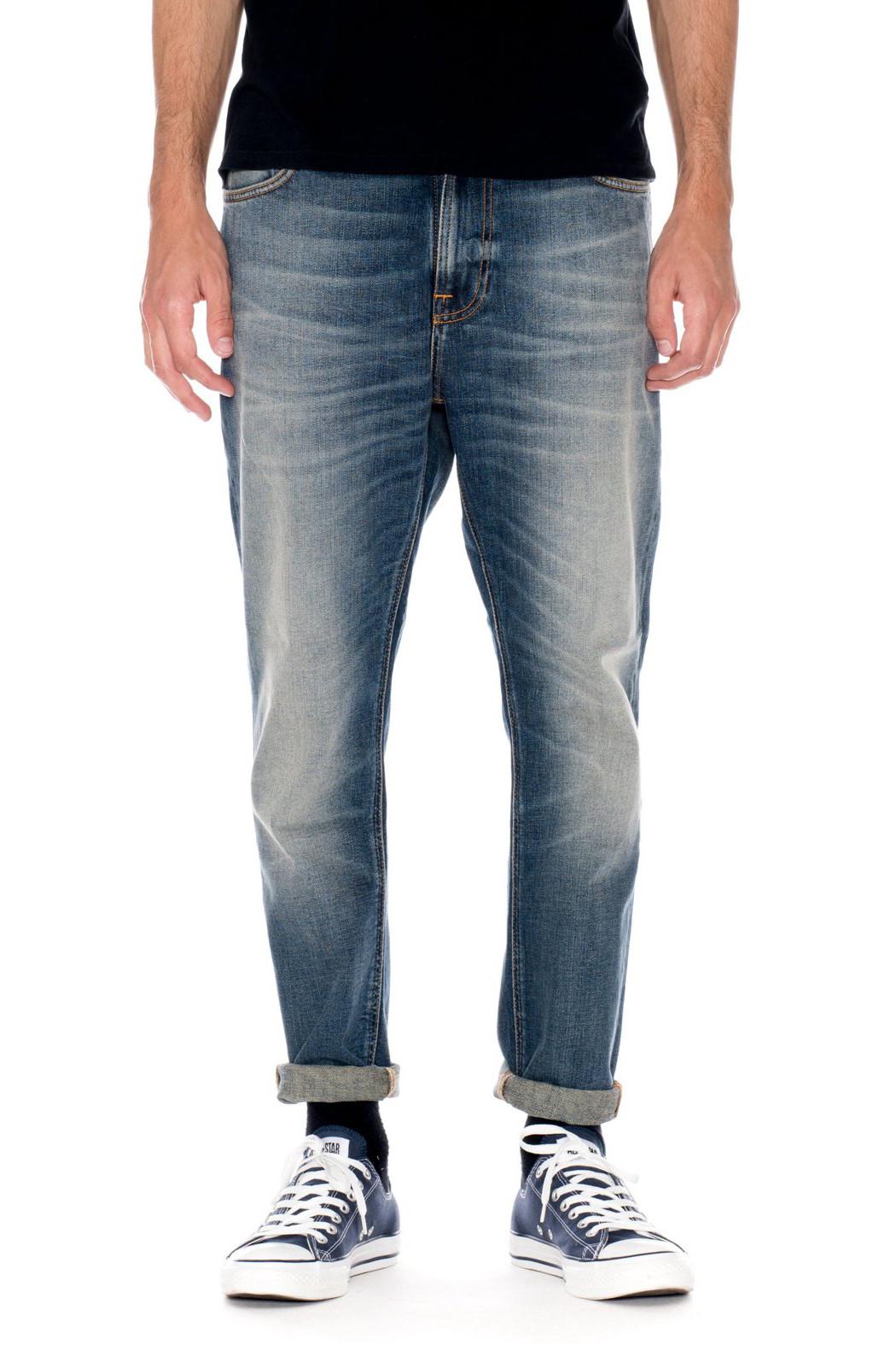 nudie jeans brute knut blue hike garmentory. Black Bedroom Furniture Sets. Home Design Ideas
