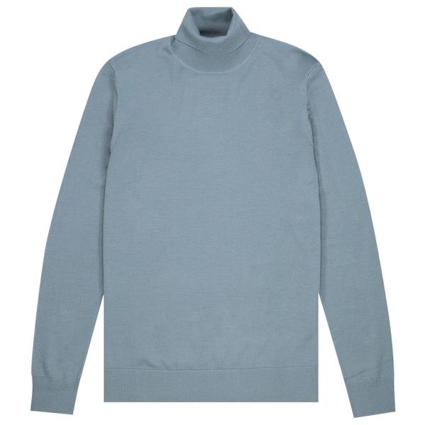 Samsoe Samsoe flemming turtle neck sweater - 3111 Trooper
