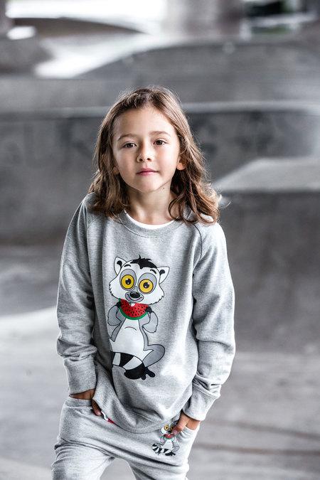 KIDS Tao&Friends Grey Lemuren Sweatshirt