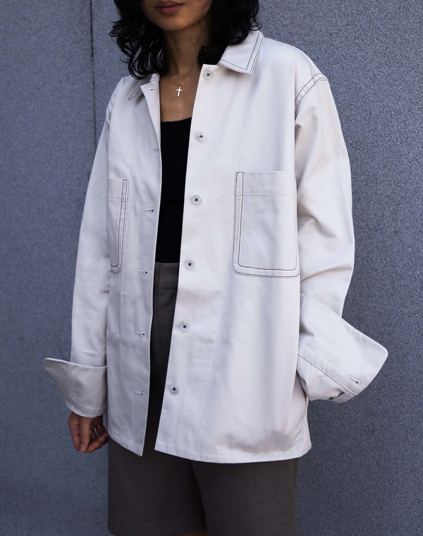 Index Series Toulon Shirtjacket - White