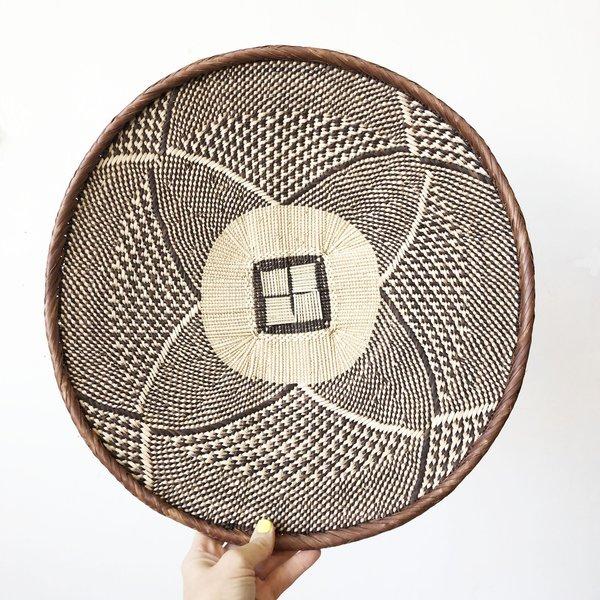 Amsha Binga Baskets - Brown/Beige