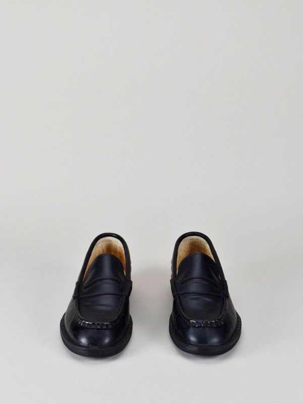 Handmade Loafers in Black