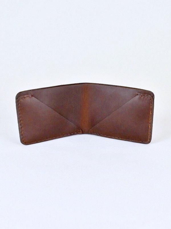 Handmade Wallet in Brown