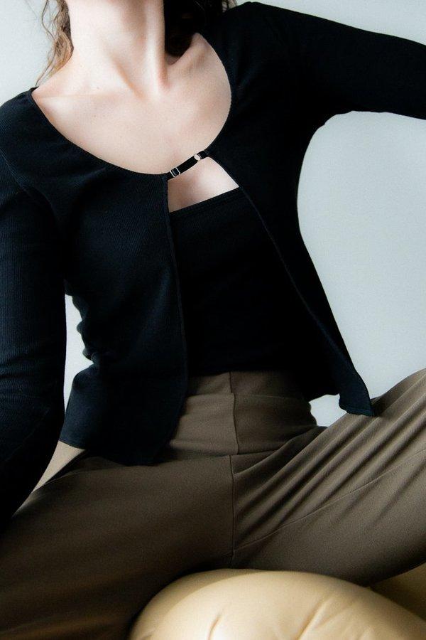 Rachel Mills Jack Cami - Black