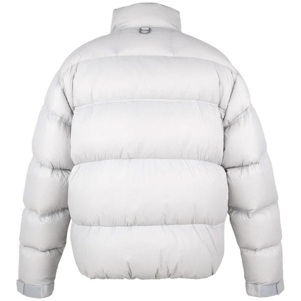 """""""Filtered Reality"""" Loom Down Puffer Jacket 'Glacier Gray'"""