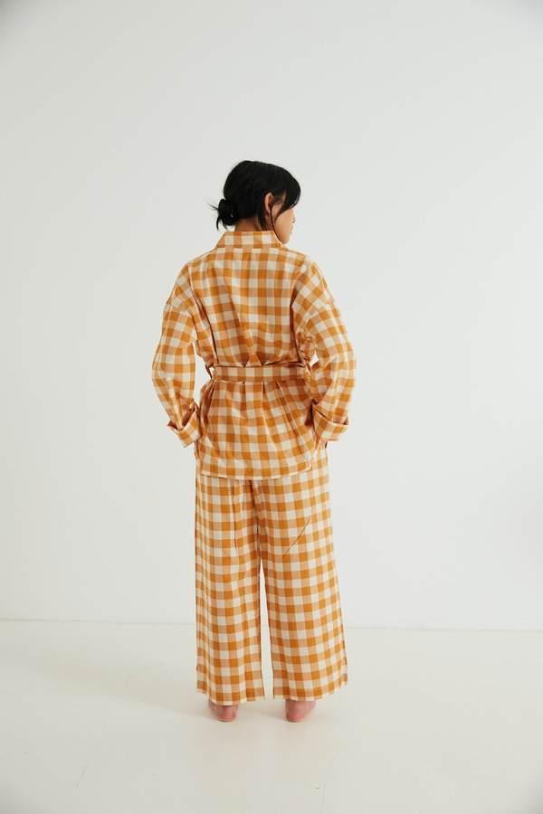 General Sleep Wrap Set - Clementine Gingham